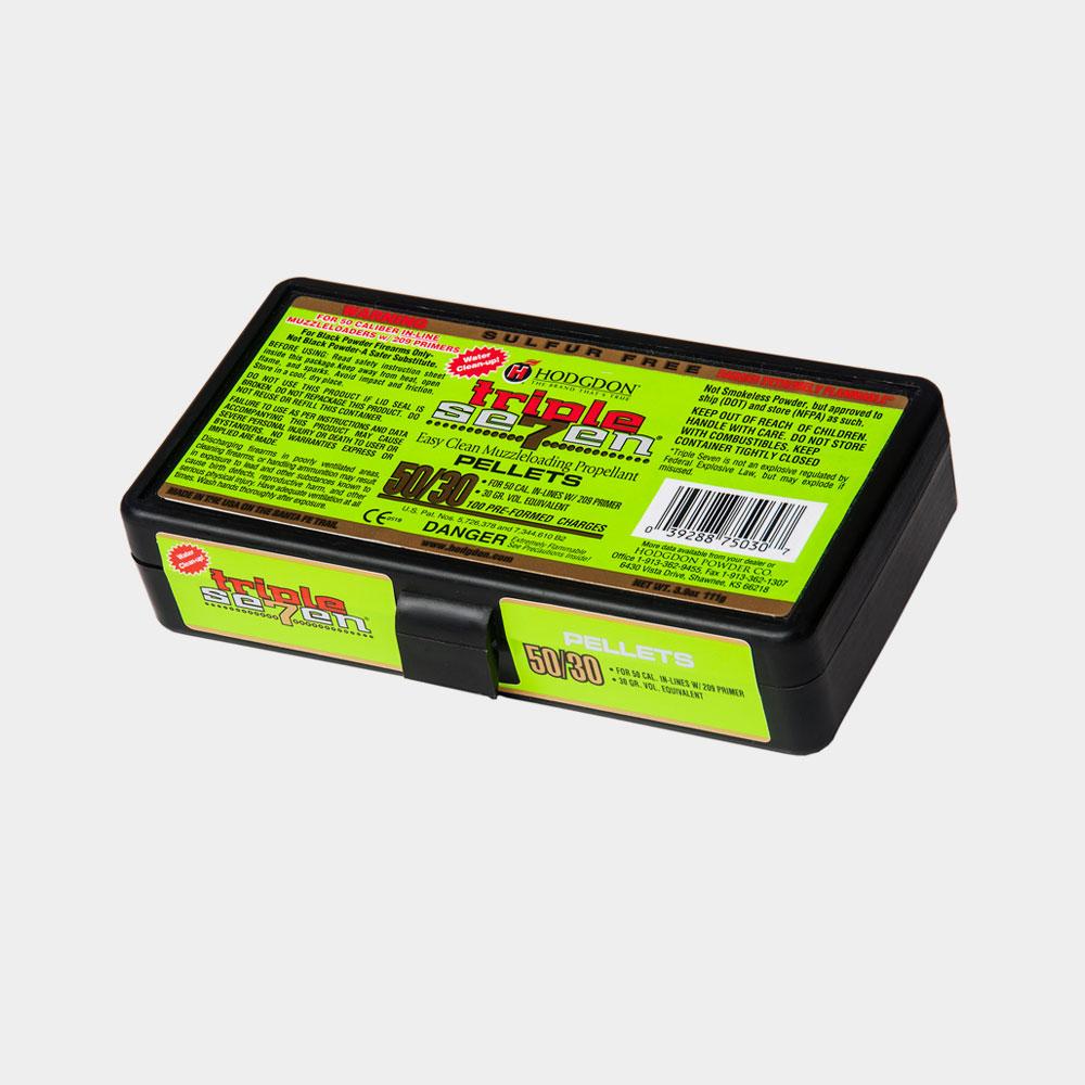 triple seven 50 cal 30 gr pellets  u2013 hodgdon